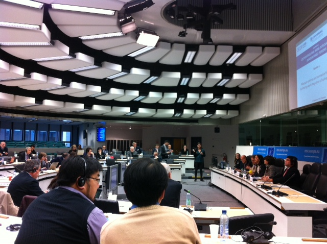 Cooperatives and work integration of disadvantaged persons- conference in Brussels
