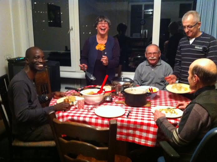 Study visit of Emile Loua - a priest from Guinea in Africa